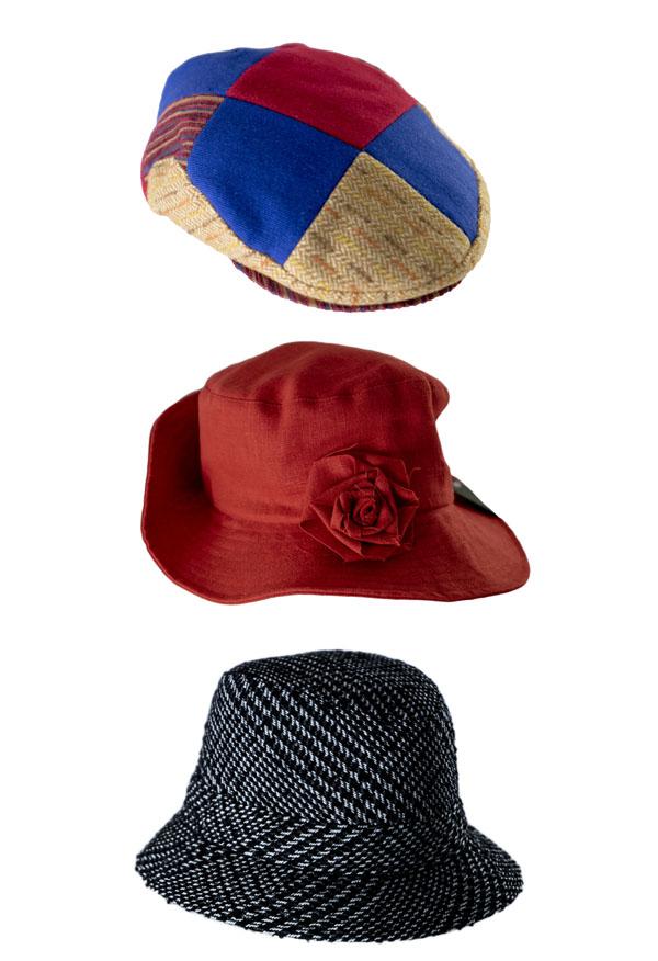kübarad ja talvemütsid